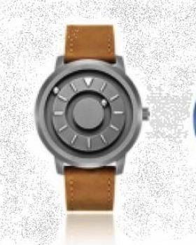 Orologio tattile con sfere magnetiche